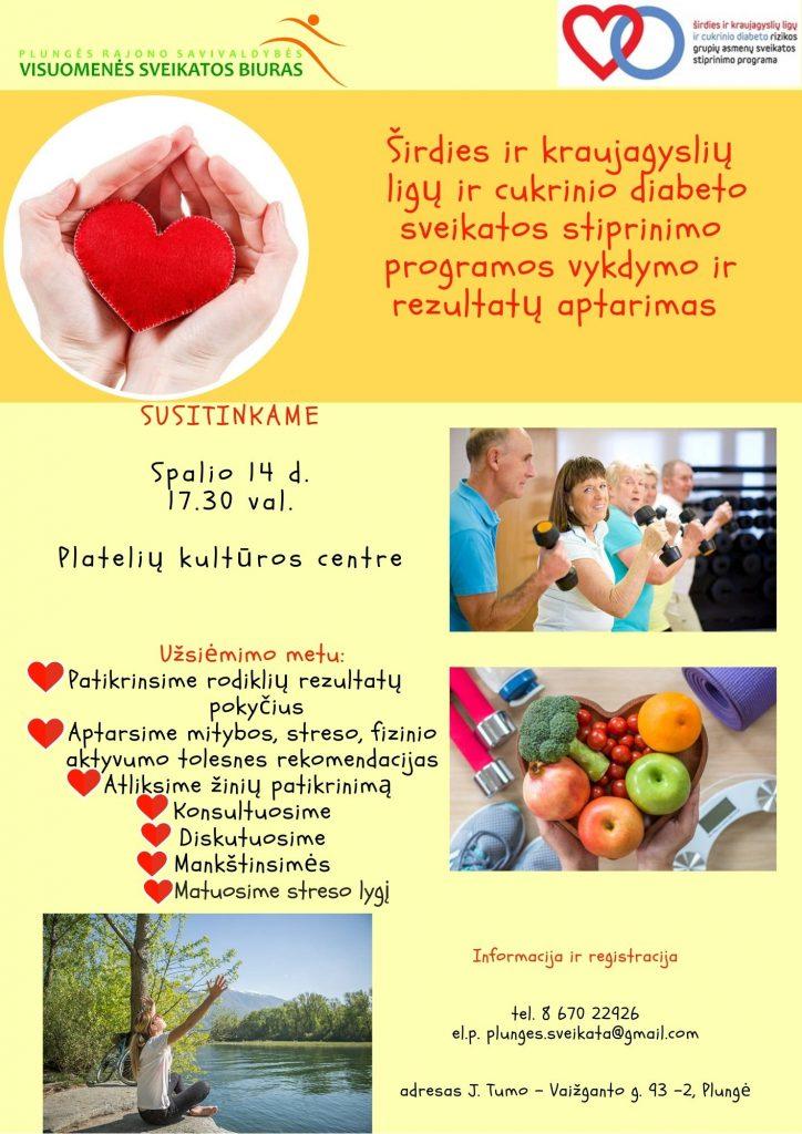 Valstybinė ligonių kasa - Širdies ir kraujagyslių ligų prevencijos programa